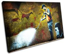 Cave Painting Banksy Street - 13-0948(00B)-SG32-LO